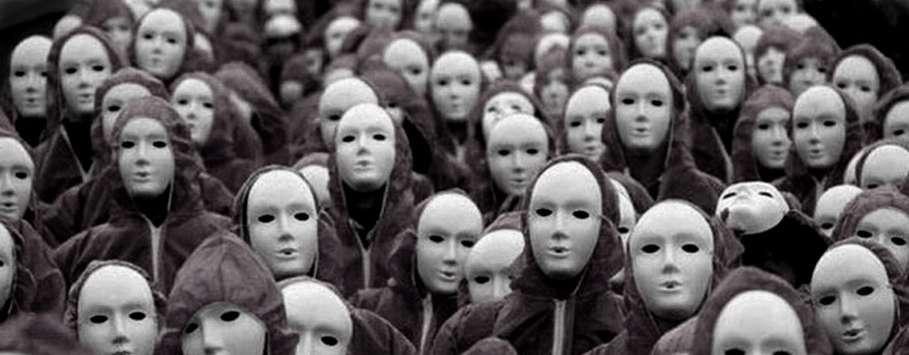 Безразличие, люди, толпа